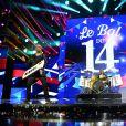 """Exclusif - Les Gibson Brothers - Enregistrement de l'émission """"Le Bal du 14 Juillet"""" dans les Arènes de Nîmes, diffusée sur TF1. Le 7 juin 2018 © Bruno Bebert"""