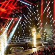 """Exclusif - Emile et Images - Enregistrement de l'émission """"Le Bal du 14 Juillet"""" dans les Arènes de Nîmes, diffusée sur TF1. Le 7 juin 2018 © Bruno Bebert"""