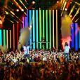 """Exclusif - Magic System - Enregistrement de l'émission """"Le Bal du 14 Juillet"""" dans les Arènes de Nîmes, diffusée sur TF1. Le 7 juin 2018 © Bruno Bebert"""