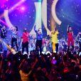 """Exclusif - Collectif Métissé - Enregistrement de l'émission """"Le Bal du 14 Juillet"""" dans les Arènes de Nîmes, diffusée sur TF1. Le 7 juin 2018 © Bruno Bebert"""