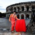 """Exclusif - Michael Youn - Backstage de l'enregistrement de l'émission """"Le Bal du 14 Juillet"""" dans les Arènes de Nîmes, diffusée sur TF1. Le 11 juin 2018 © Bruno Bebert"""