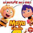 """L'affiche de """"Maya L'abeille 2 : Les jeux du miel"""" dont la sortie est prévue pour le 18 juillet 2018."""