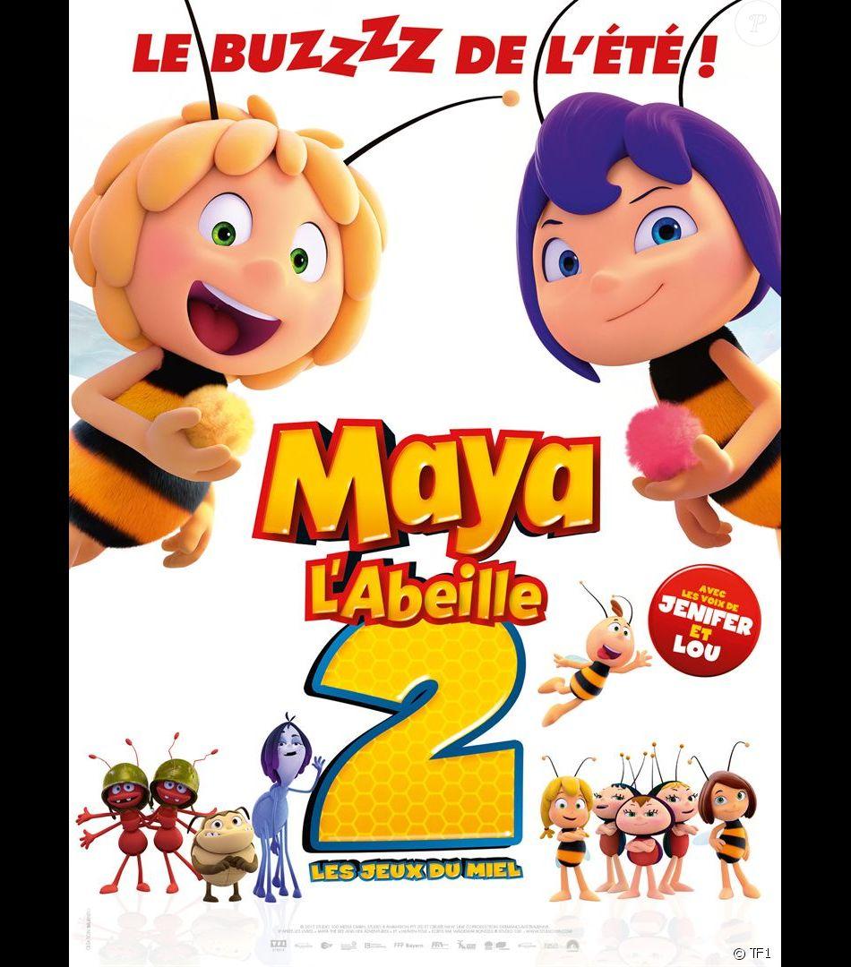 L Affiche De Maya L Abeille 2 Les Jeux Du Miel Dont La Sortie Est