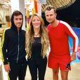 Loana sur le tournage de La Villa des coeurs brisés saison 4 - Instagram, juin 2018