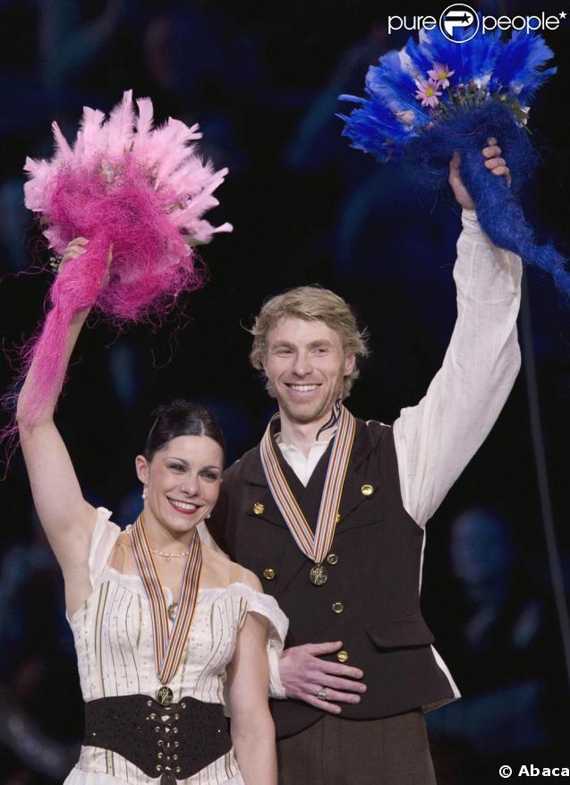 Isabelle Delobel et son partenaire  Olivier Schoenfelder