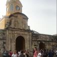 Marine Lorphelin et ses amies en Colombie fin juillet 2018.