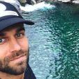Christophe, le compagnon de Marine Lorphelin - Instagram, 2017