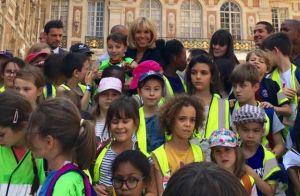 Brigitte Macron adulée par les enfants pour une journée spéciale à Versailles
