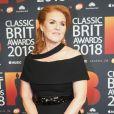 Sarah Ferguson, duchesse d'York, lors des Classic BRIT Awards au Royal Albert Hall à London, le 13 juin 2018.