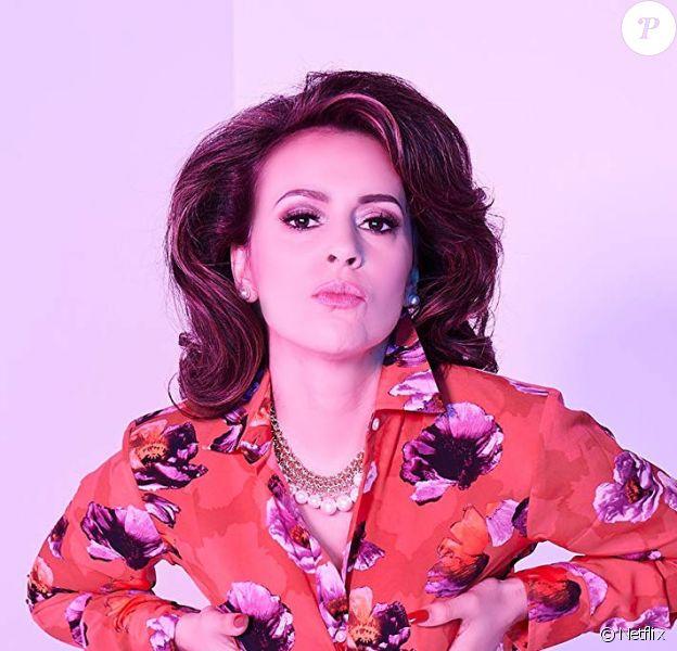 Alyssa Milano dans une photo promo d'Insatiable