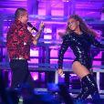 J Balvin et Beyonce à Coachella, le 21 avril 2018.