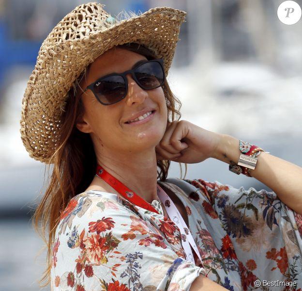 Eve Angeli à Monaco en marge des essais libres du Grand Prix de Formule 1 le 24 mai 2018 © Jean François Ottonello / Nice Matin / Bestimage