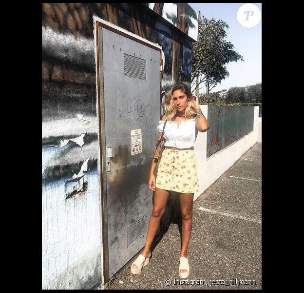 Jesta divine dans les rues de Toulouse - Instagram, 28 juillet 2018