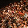 Exclusif - Ambiance - Francis Cabrel en concert lors du festival de Ramatuelle le 2 aout 2018. C'est la première fois qu'il vient chanter au festival de Ramatuelle © Luc Boutria/Nice Matin /Bestimage