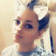Mélanie Da Cruz raconte son quotidien de jeune maman - Snapchat, 2 août 2018