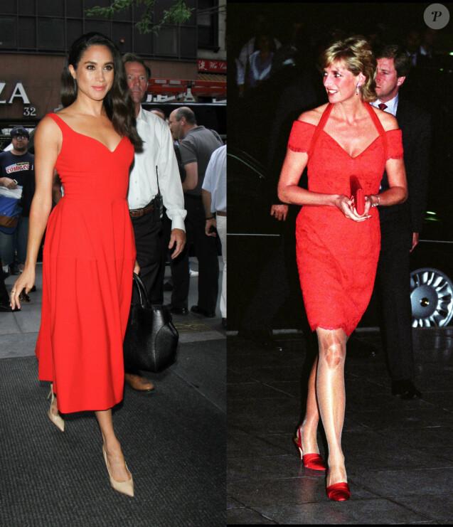 Les 12 fois où Meghan Markle semble s'être inspirée du style de Lady Diana.