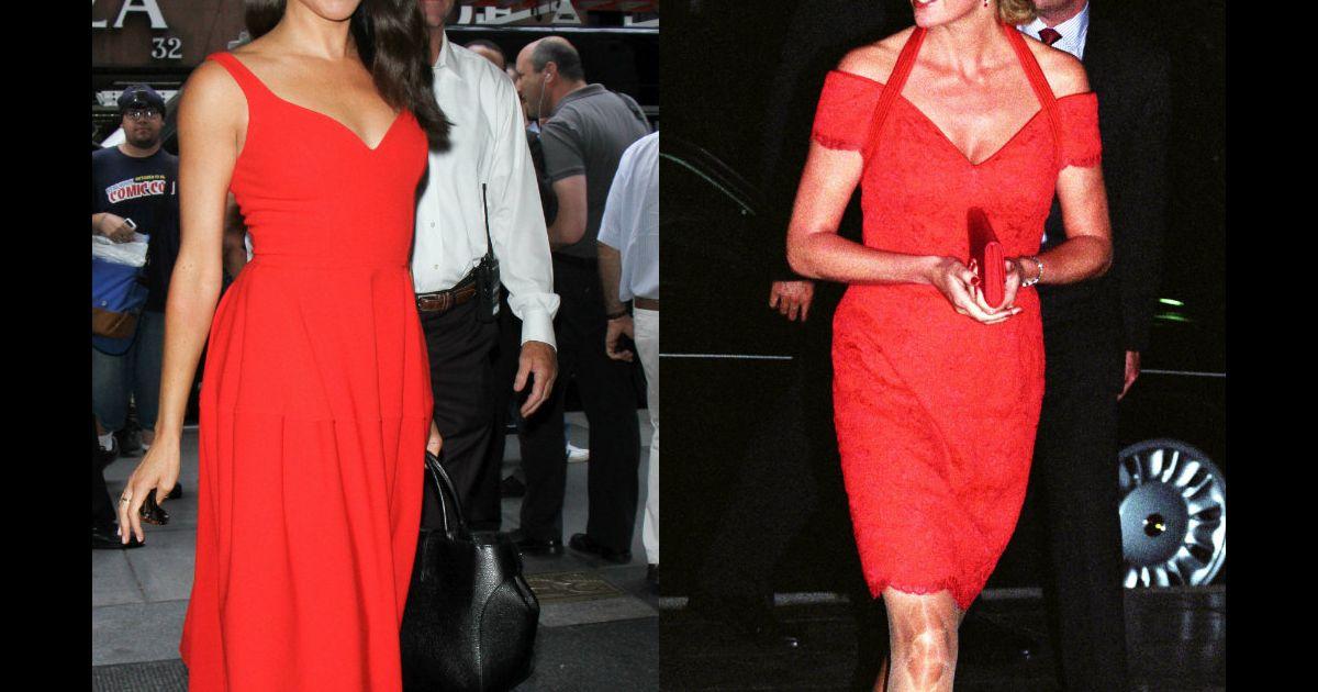 06ab65f7e04 Meghan Markle fête ses 37 ans   ses looks qui semblent inspirés de Diana -  Purepeople