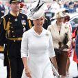 La comtesse Sophie de Wessex lors de la cérémonie pour le centenaire de la RAF en l'abbaye de Westminster à Londres le 10 juillet 2018.