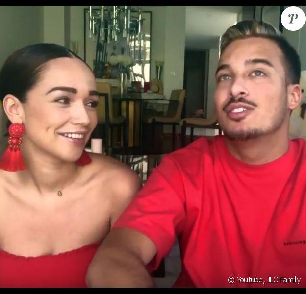 Jazz et Laurent (La Villa) révèlent attendre un deuxième enfant - Youtube, 6 août 2018