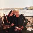 """Lolita Séchan et son père Renaud, sur le tournage du film """"Wanted"""" au début des années 2000."""