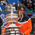 Rafael Nadal, vainqueur du tournoi de tennis de Barcelone, le 26 avril 2009 !
