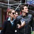 Exclusif - Céline Dion et son danseur Pepe Munoz à Paris, France, le 8 août 2017.