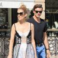 Exclusif - Céline Dion et son danseur Pepe Munoz à Paris, France, le 1er août 2017.