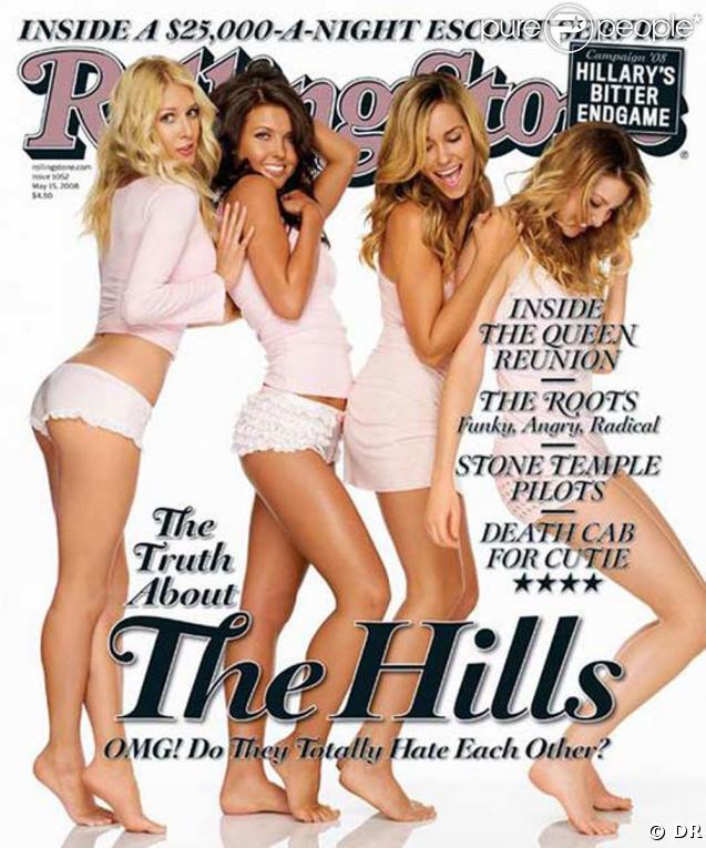 """Les stars de """"The Hills"""" très sexy en couverture de Rolling Stone !"""