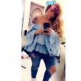 Sarah Fraisou (Les Anges 10 ) dévoile sa nouvelle silhouette sur Instagram. Juin 2018.