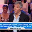 """Nagui tacle Franck Dubosc dans """"Tout le monde veut prendre sa place"""" sur France 2, le 13 août 2018."""