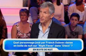 Nagui tacle sévèrement Franck Dubosc
