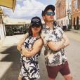 Sophie Ellis-Bextor et son mari Richard Jones (photo Instagram, en Croatie le 9 juin 2018) attendent leur cinquième enfant, comme elle l'a révélé le 10 août 2018 à Chris Evans sur BBC Radio 2.