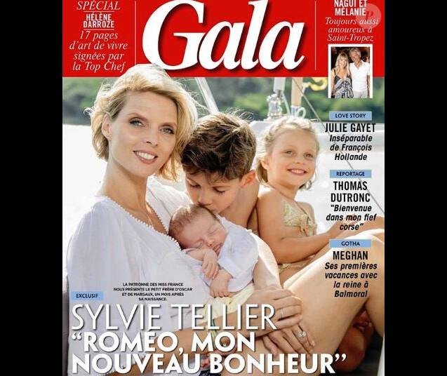 """Couverture du nouveau numéro du magazine """"Gala"""" - 15 août 2018"""