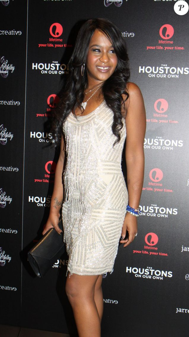 Bobbi Kristina Brown à l'avant-premiere de leur nouvelle emission de tele-realite 'The Houstons On Our Own' a New York le 22 octobre 2012