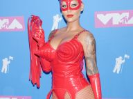 Amber Rose : Ultrasexy en vinyle aux MTV Video Music Awards