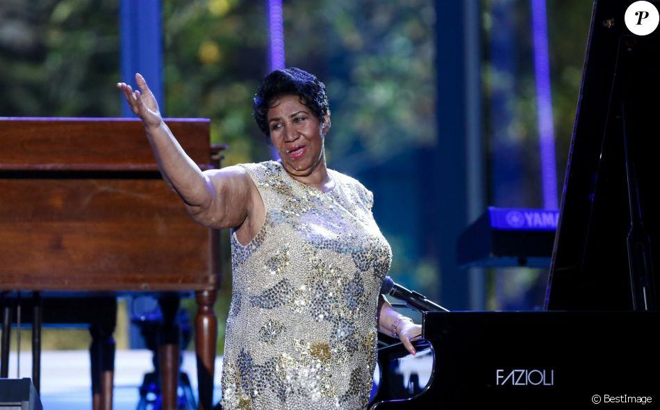 Archives - 'La reine de la Soul', Aretha Franklin s'est éteinte à l'âge de 76 ans des suites d'un cancer du pancréas à Detroit, le 16 aout 2018.