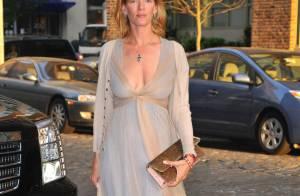 Uma Thurman, pour son anniversaire... elle a sorti la robe décolletée !
