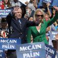 John et Cindy McCain en campagne à Fairfax en Virginie, le 10 septembre 2008.
