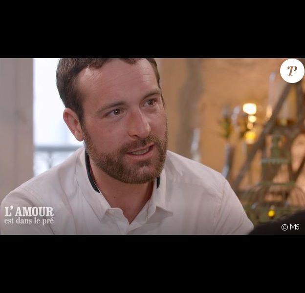 """Extrait de l'émission """"L'amour est dans le pré"""" du lundi 27 août 2018 - M6"""
