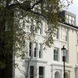 Exclusif - Image de la maison de James Matthews et Pippa Middleton dans le quartier de Chelsea à Londres le 1er novembre 2017, alors qu'un grand chantier de rénovation y avait débuté.