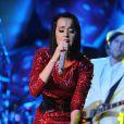 Katy Perry en concert à Fort Lauderdale, en Floride, le 29 avril