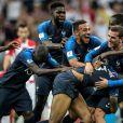 L'équipe de France - Finale de la Coupe du Monde de Football 2018 en Russie à Moscou, opposant la France à la Croatie (4-2). Le 15 juillet 2018 © Moreau-Perusseau / Bestimage