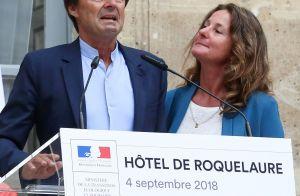 Démission de Nicolas Hulot : Les larmes aux yeux devant sa femme, émue