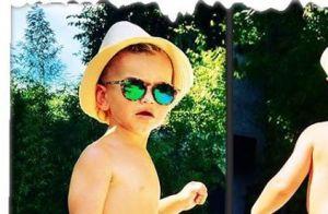 Ingrid Chauvin : Quand son fils Tom joue à cache-cache... c'est craquant !