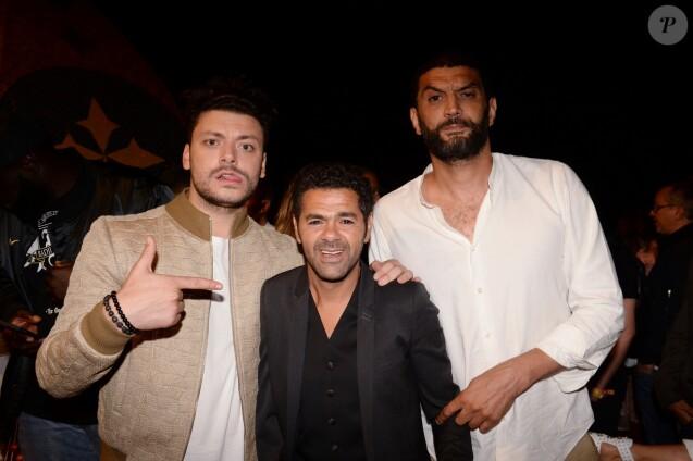 """Exclusif - Kev Adams, Jamel Debbouze et Ramzy Bedia - After show lors du festival """"Marrakech du Rire 2018"""" à Marrakech au Maroc le 24 juin 2018. © Rachid Bellak/Bestimage"""