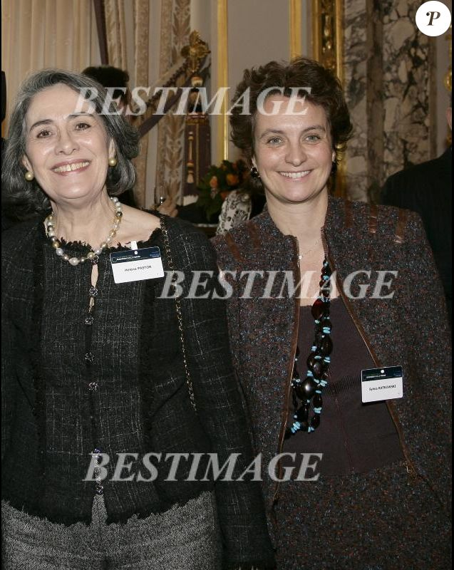 Sylvia Pastor et sa mère, Hélène Pastor, en décembre 2005.
