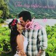 Janel Parrish (de Pretty Little Liars) a épousé le 9 septembre 2018 à Hawaï son compagnon Chris Long (photo issue de sa story Instagram). Deux semaines plus tard, elle a révélé que son beau-père avait été tué quelques jours auparavant.