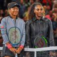 Naomi Osaka, Serena Williams - Finale femme de de l'US Open de Tennis 2018 à New York le 9 septembre 2018.