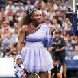 Serena Williams lors de l'US Open de tennis au USTA National Tennis Center à New York City, New York, Etats-Unis, le 6 septembre 2018.