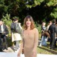 Jeanne Damas - Défile de mode Jacquemus, collection prêt-à-porter printemps-été 2019 à l'ambassade d'Italie à Paris le 24 septembre 2018. © CVS / Veeren / Bestimage